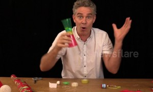 Australian science teacher reinvents traditional Christmas cracker with fun twist