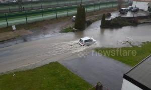 Flash floods strike central Germany