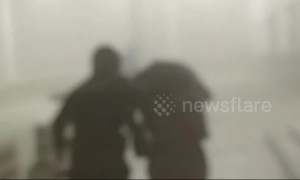 12 people trapped by gales rescued in Xinjiang