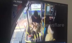 Chinese man ignites explosive on bus injuring 17