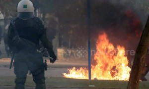 Greek city descends into chaos on 10th anniversary of police killing