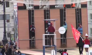 Fastest fireman competition showcases unbelievable speed