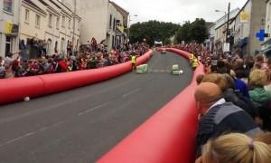 Soapbox Derby Downhill Spill
