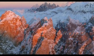 Stunning Ultra HD drone footage shows Dolomites from sunrise to sunset