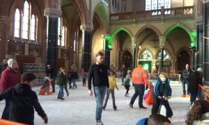 Dutch church has incredible Christmas ice rink surprise