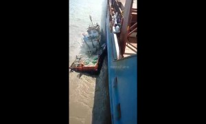 At least four missing after tugboat sinks off coast of India