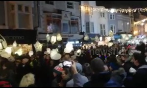 'Burning of the Clocks' marks winter solstice in Brighton