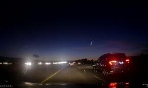 Meteor Blazes Across California Sky