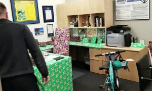 A Christmas Surprise Prank