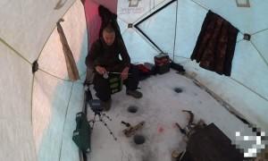 Ice Fishing Fail