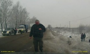 Roadside Rollover in Russia