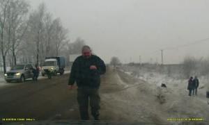 Roadside Rollover in Russia