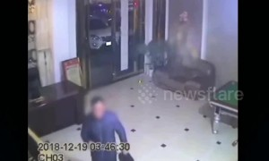 Barefoot hotel thief caught in Chinese province after investigators follow his overwhelming foot odour