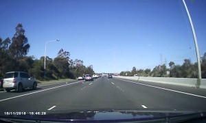 Disgruntled Drivers Swerve on Highway