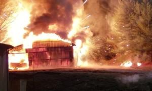 Storage Unit Explosion Firework Show