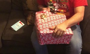 Father Cries over Unexpected Gift