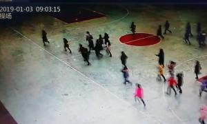 CCTV footage shows shaking, students evacuating as 5.3 magnitude earthquake hits Sichuan