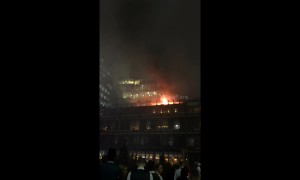 Fire breaks out at The Ivy restaurant in Manchester