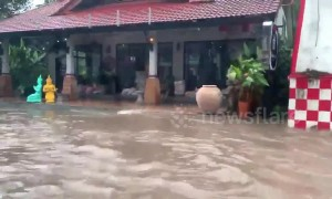 Severe flooding hits Ko Samui in Thailand after tropical storm