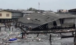 Tropical storm devastates parts of eastern Thailand