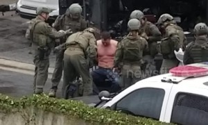 Exclusive footage shows moment man barricaded at Culver City motel is removed by officers after shooting