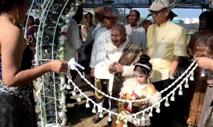 100-year-old man marries 96-year-old bride in Thailand