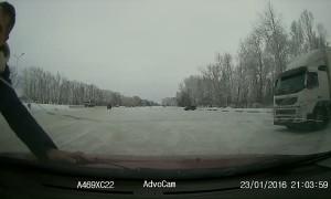 Accident in Altai Krai