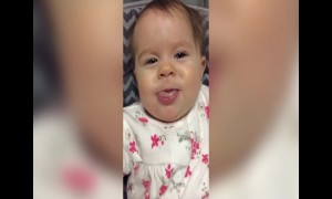 Slow-Mo Video of Baby's Face is Hilarious
