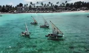 Bizarre 'Kraken Cup' underway in Indian Ocean