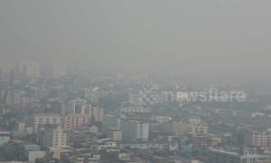 Bangkok air a 'serious threat' to health as pollution soars eight times higher than safe level