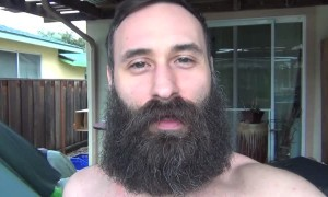 Incredible 365-day beard growth timelapse