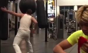Unique Martial Arts Drill