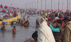 Kumbh Mela: Hindus converge for 'largest-ever human gathering'