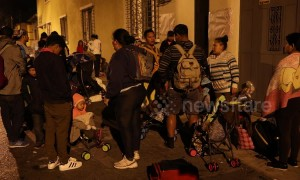 Honduran migrant caravan leaves Guatemala City and heads for Mexico