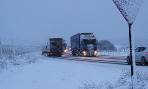 Snow blankets Northern Ireland