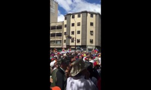Thousands of Venezuelans march against President Nicolás Maduro