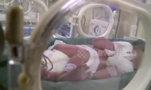 China's first baby born from transplanted womb