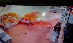 Five injured in gas explosion in India