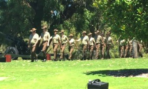 Australia Day marked in Perth with 21-gun salute