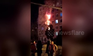 Residential building explodes due to gas leak, killing eight