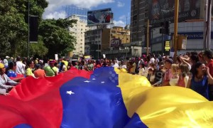 Venezuelans protest against Nicolas Maduro in streets of Caracas