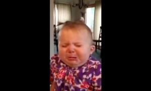 Baby Girl Has The Funniest Reaction To Her Dad's Singing