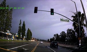 Plane Crash in Yorba Linda Caught on Dashcam