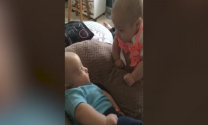 Babies have Intense Conversation