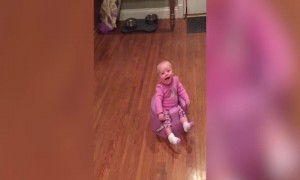 Mom and Baby have a Yell-Off