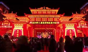 Lunar New Year lantern show kicks off in northern China