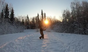 Some Freezing Fun in Fairbanks
