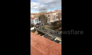 Gilets Jaunes protest in southern France