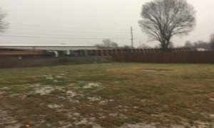 Tornado Causes Train Derailment