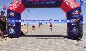 British runner Susannah Gill sets world record to win World Marathon Challenge